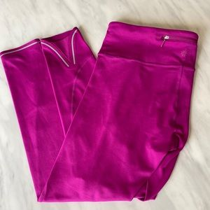 Pink Athleta leggings size 4
